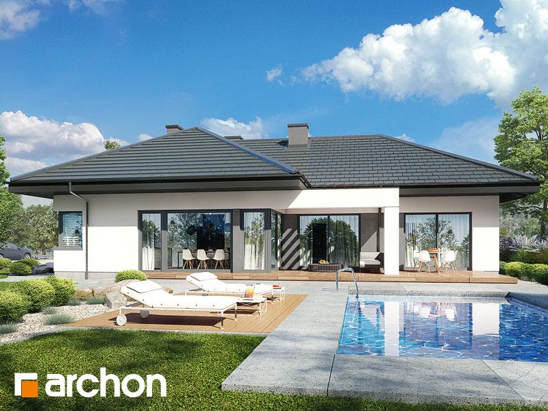 Проект будинку ARCHON+ Будинок в каландівах Вид 1