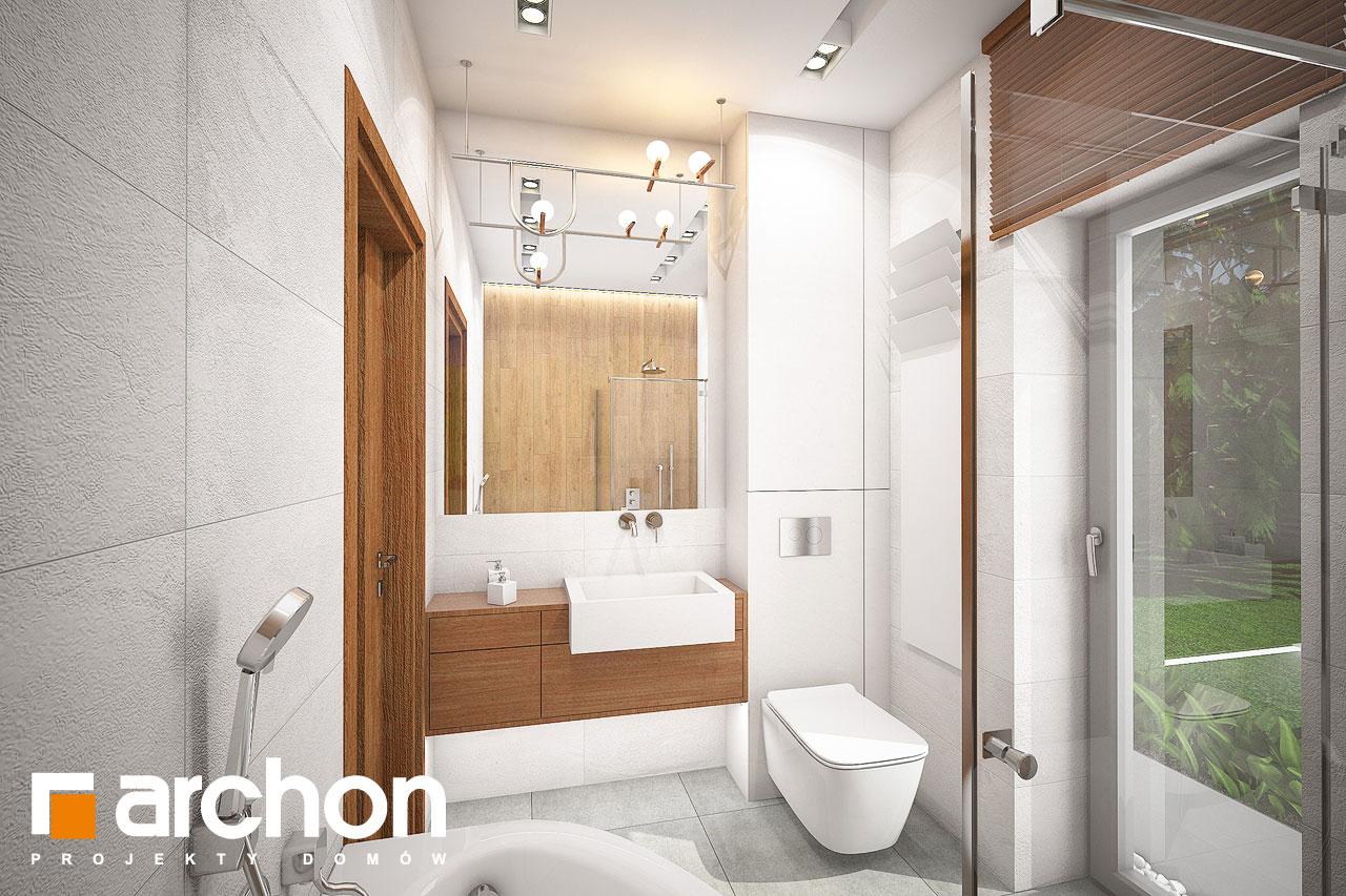 Проект будинку ARCHON+ Будинок в плюмеріях візуалізація ванни (візуалізація 3 від 1)