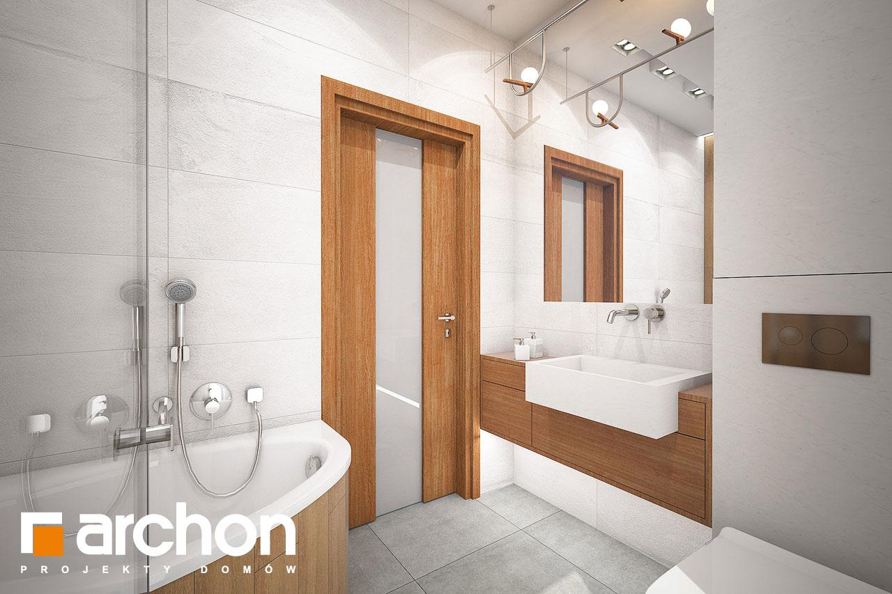 Проект будинку ARCHON+ Будинок в плюмеріях візуалізація ванни (візуалізація 3 від 2)