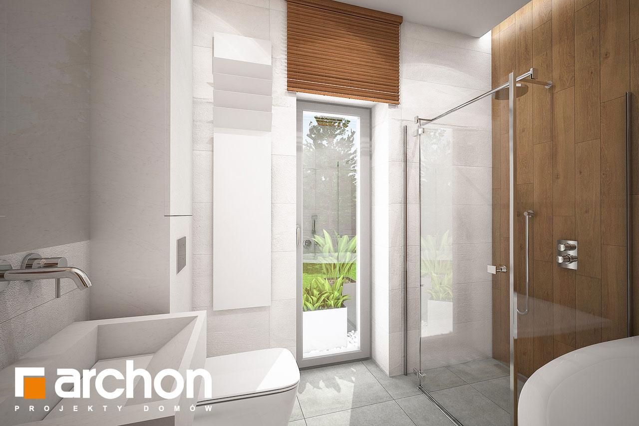 Проект будинку ARCHON+ Будинок в плюмеріях візуалізація ванни (візуалізація 3 від 3)