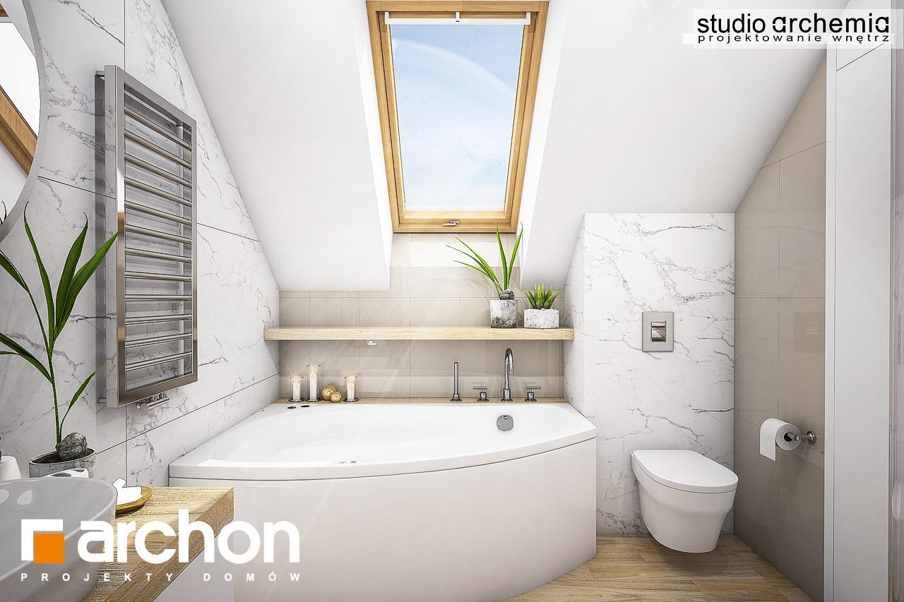 Проект будинку ARCHON+ Будинок в журавках (A) візуалізація ванни (візуалізація 3 від 1)