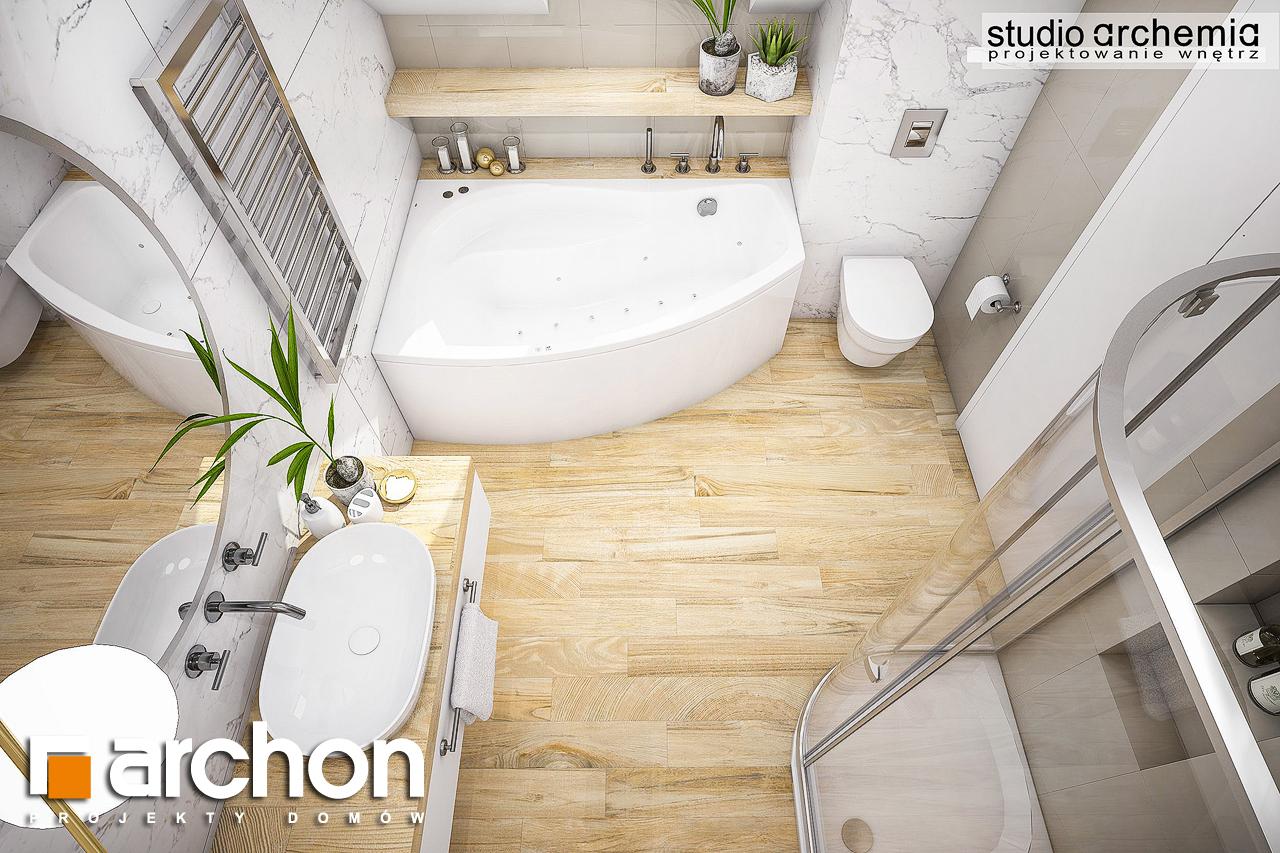 Проект будинку ARCHON+ Будинок в журавках (A) візуалізація ванни (візуалізація 3 від 4)