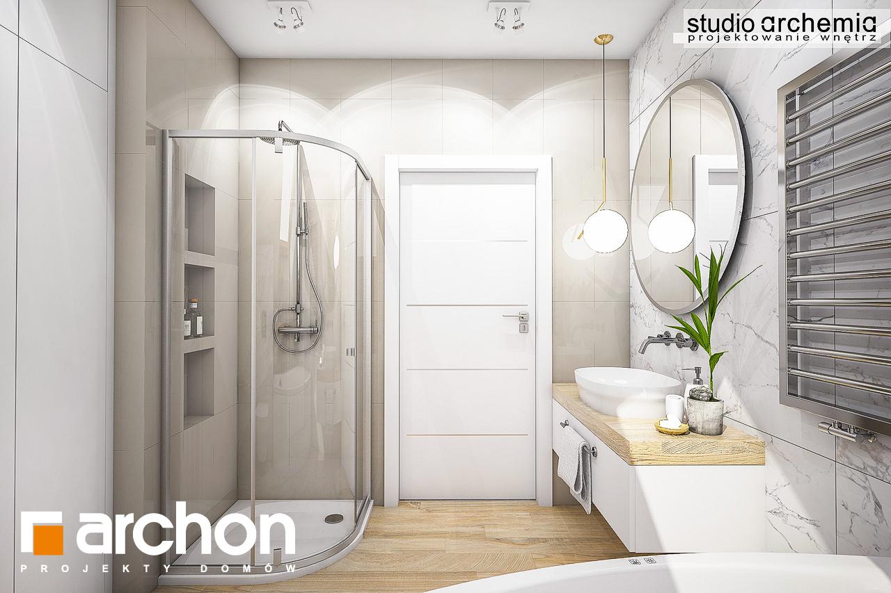 Проект дома ARCHON+ Дом в журавках (A) визуализация ванной (визуализация 3 вид 3)