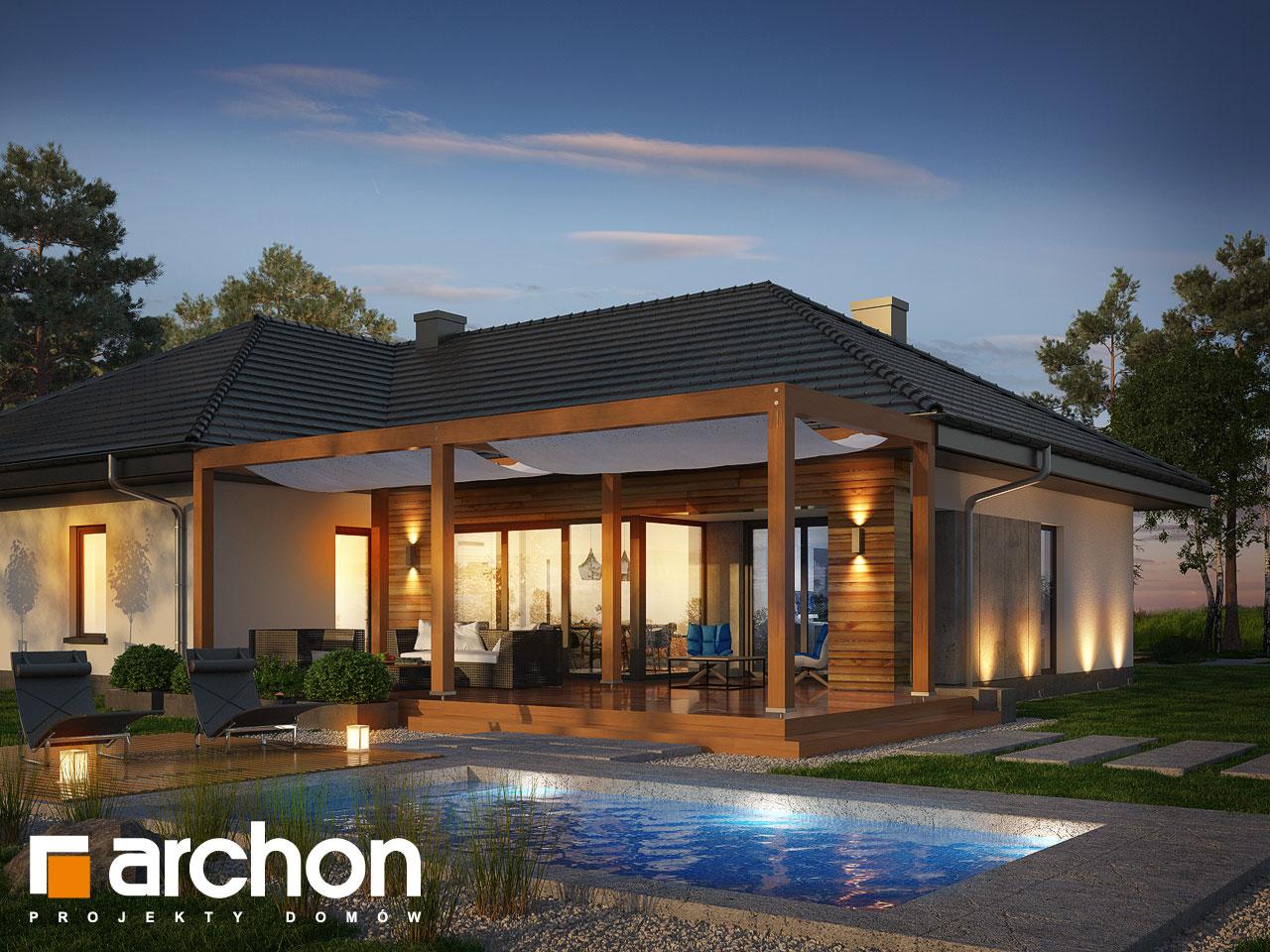 Проект дома ARCHON+ Дом в исменах (Г2) додаткова візуалізація