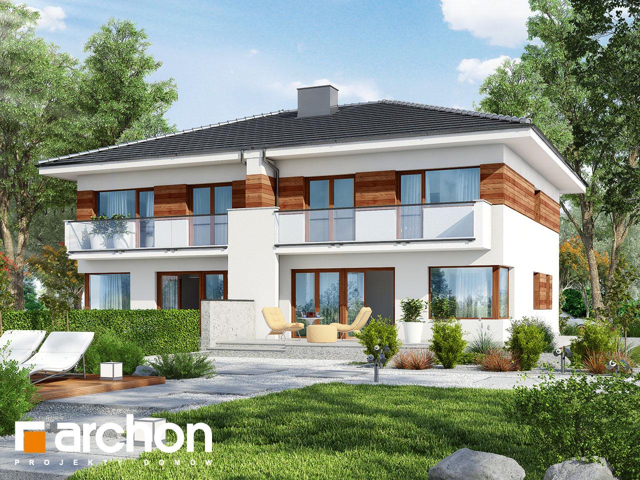 Проект будинку ARCHON+ Вілла Юлія ver.3 Вид 2