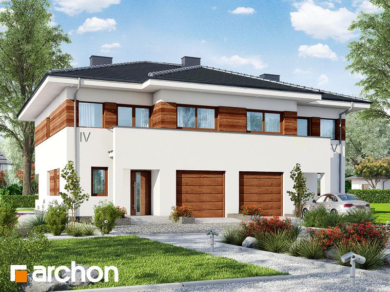 Проект будинку ARCHON+ Вілла Юлія ver.3 Вид 1