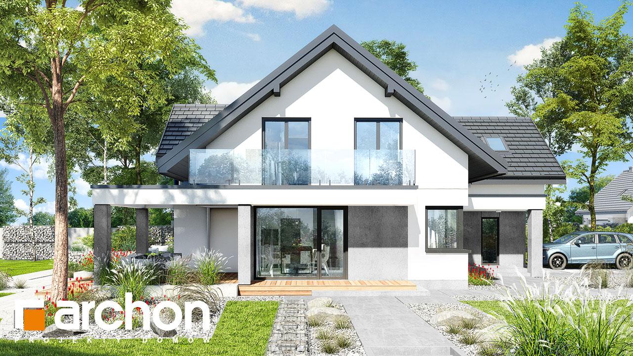 Проект будинку ARCHON+ Будинок у телімах 2 (Г) додаткова візуалізація