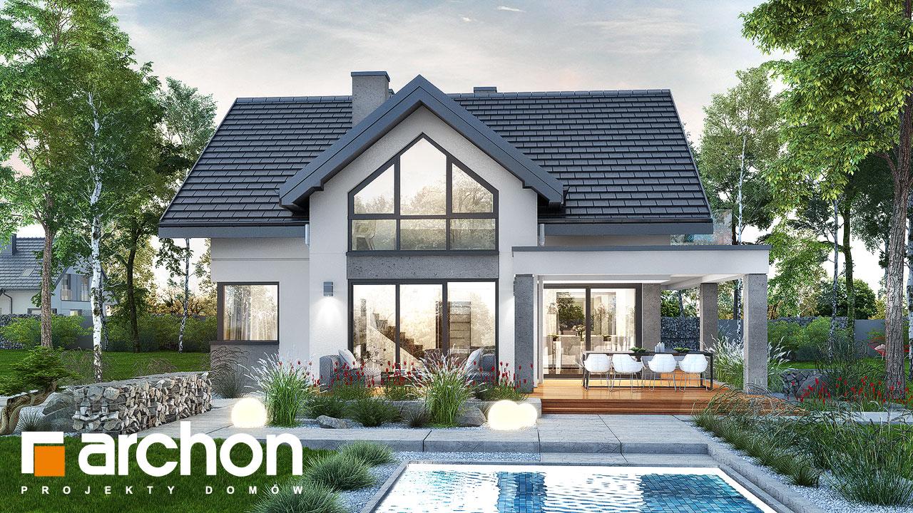 Проект будинку ARCHON+ Будинок у телімах 2 (Г) Вид 2