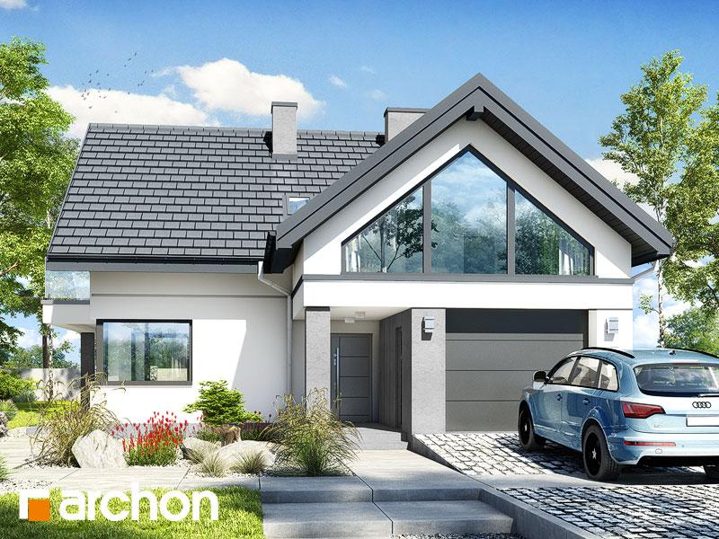 Проект будинку ARCHON+ Будинок у телімах 2 (Г) Вид 1