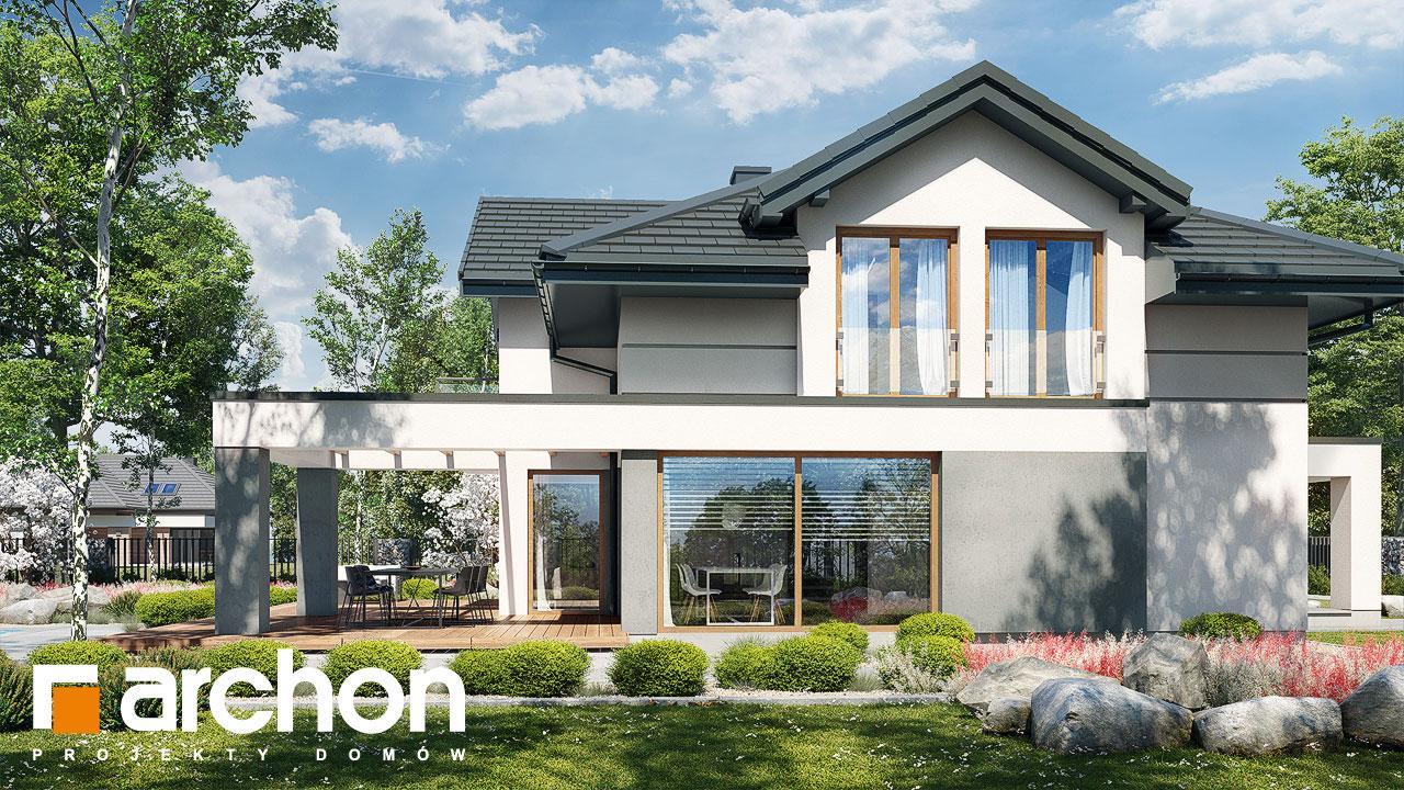 Проект будинку ARCHON+ Будинок в мачейках 4 (Г2) додаткова візуалізація