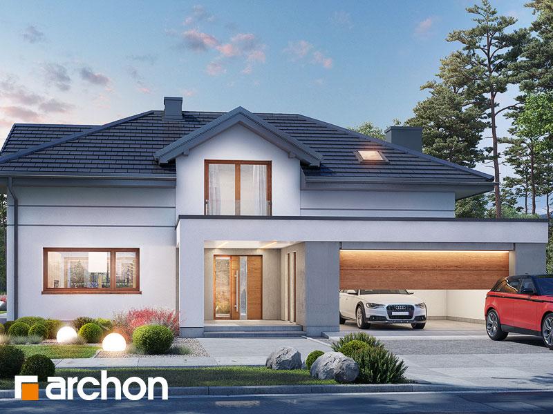 Проект будинку ARCHON+ Будинок в мачейках 4 (Г2) Вид 1