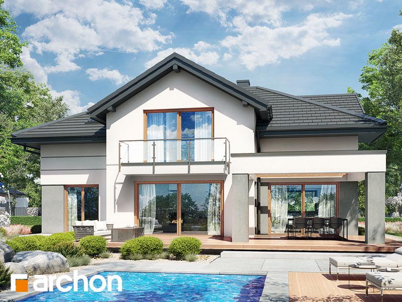 Проект будинку ARCHON+ Будинок в мачейках 4 (Г2) Вид 2