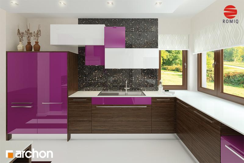 Проект будинку ARCHON+ Будинок в майорані 2 (Н) вер.2 аранжування кухні 1 від 1