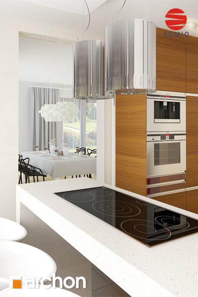 Проект будинку ARCHON+ Будинок в майорані 2 (Н) вер.2 аранжування кухні 2 від 2