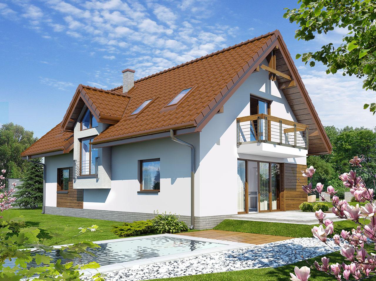 Проект будинку ARCHON+ Будинок в майорані 2 (Н) вер.2 Вид 2