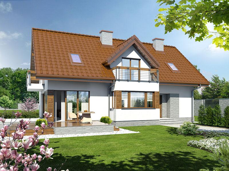 Проект будинку ARCHON+ Будинок в майорані 2 (Н) Вид 1