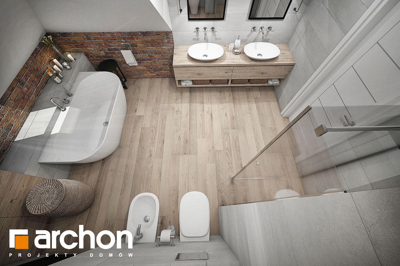 Проект будинку ARCHON+ Будинок в сливах (Г2) візуалізація ванни (візуалізація 3 від 4)