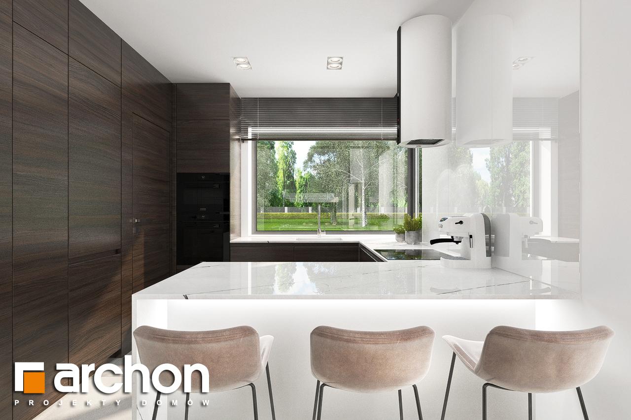 Проект будинку ARCHON+ Будинок в хакетіях 5 візуалізація кухні 1 від 1