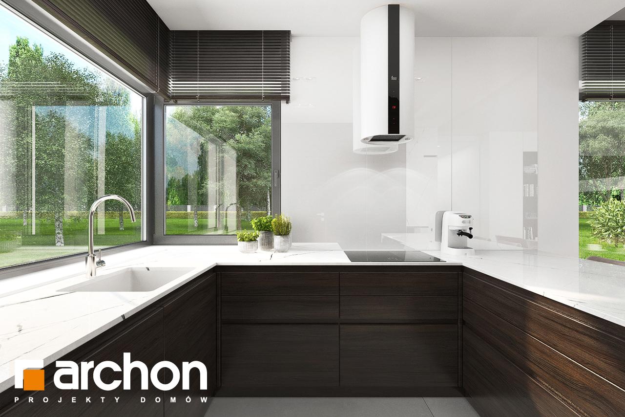 Проект будинку ARCHON+ Будинок в хакетіях 5 візуалізація кухні 1 від 2