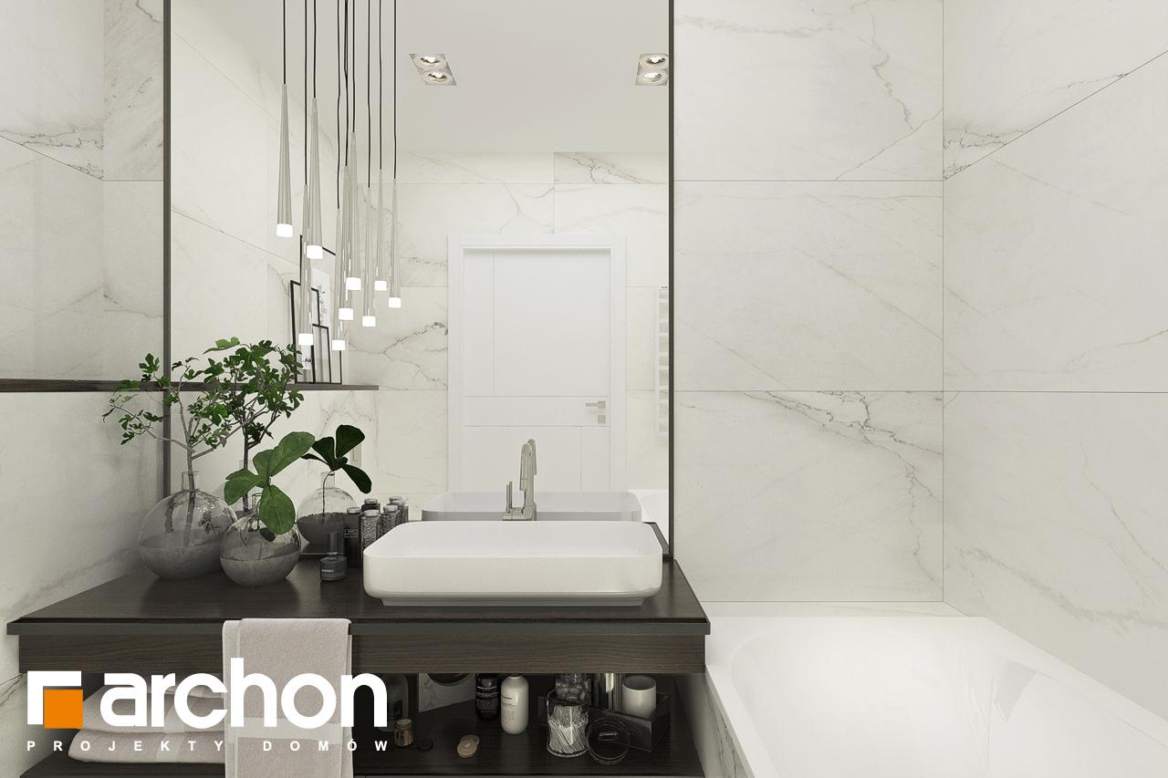 Проект будинку ARCHON+ Будинок в хакетіях 5 візуалізація ванни (візуалізація 3 від 2)