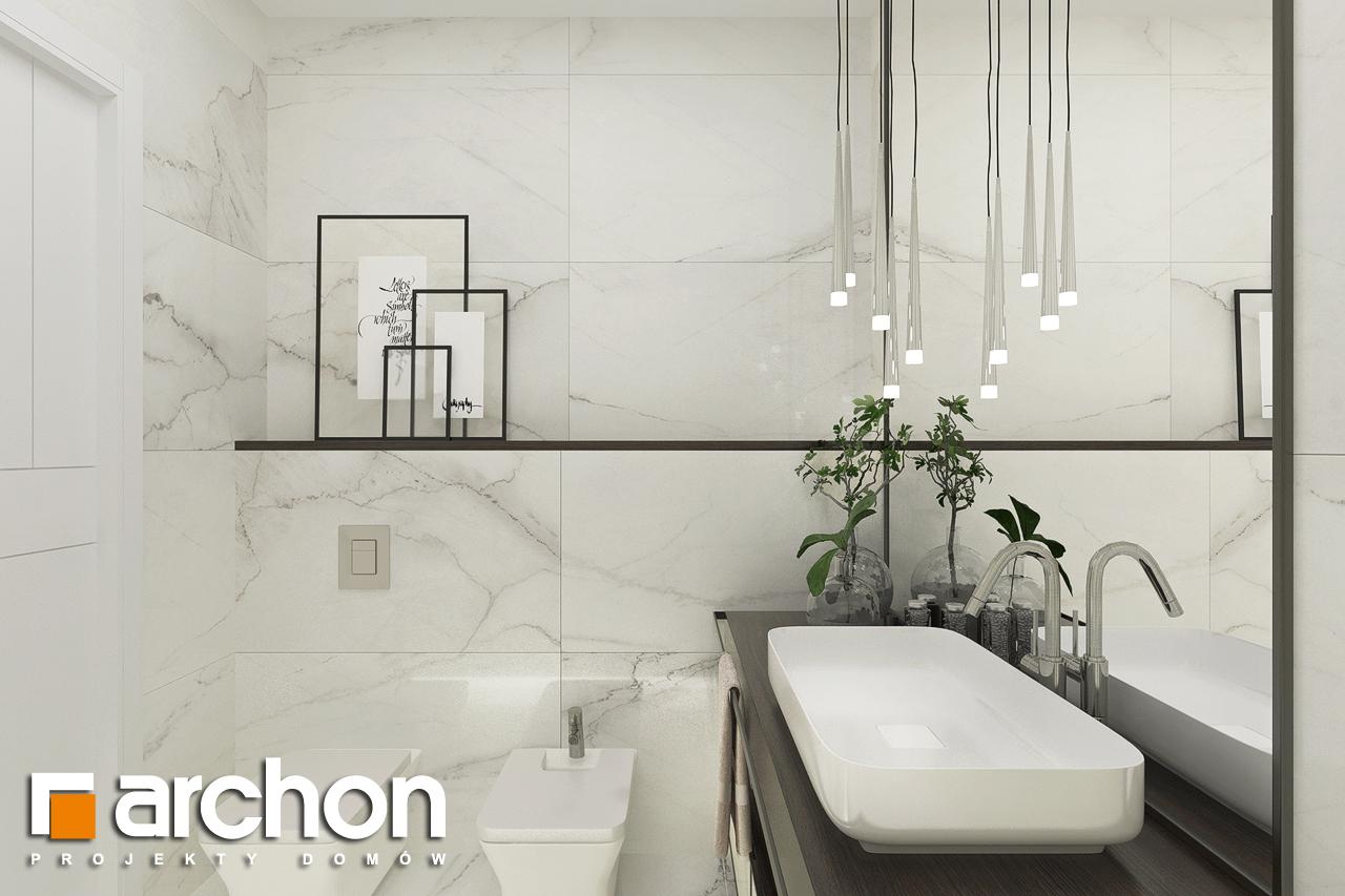 Проект будинку ARCHON+ Будинок в хакетіях 5 візуалізація ванни (візуалізація 3 від 3)