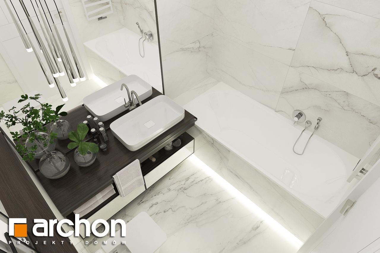 Проект будинку ARCHON+ Будинок в хакетіях 5 візуалізація ванни (візуалізація 3 від 4)