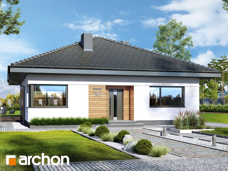 Проект будинку ARCHON+ Будинок в хакетіях 5 Вид 1
