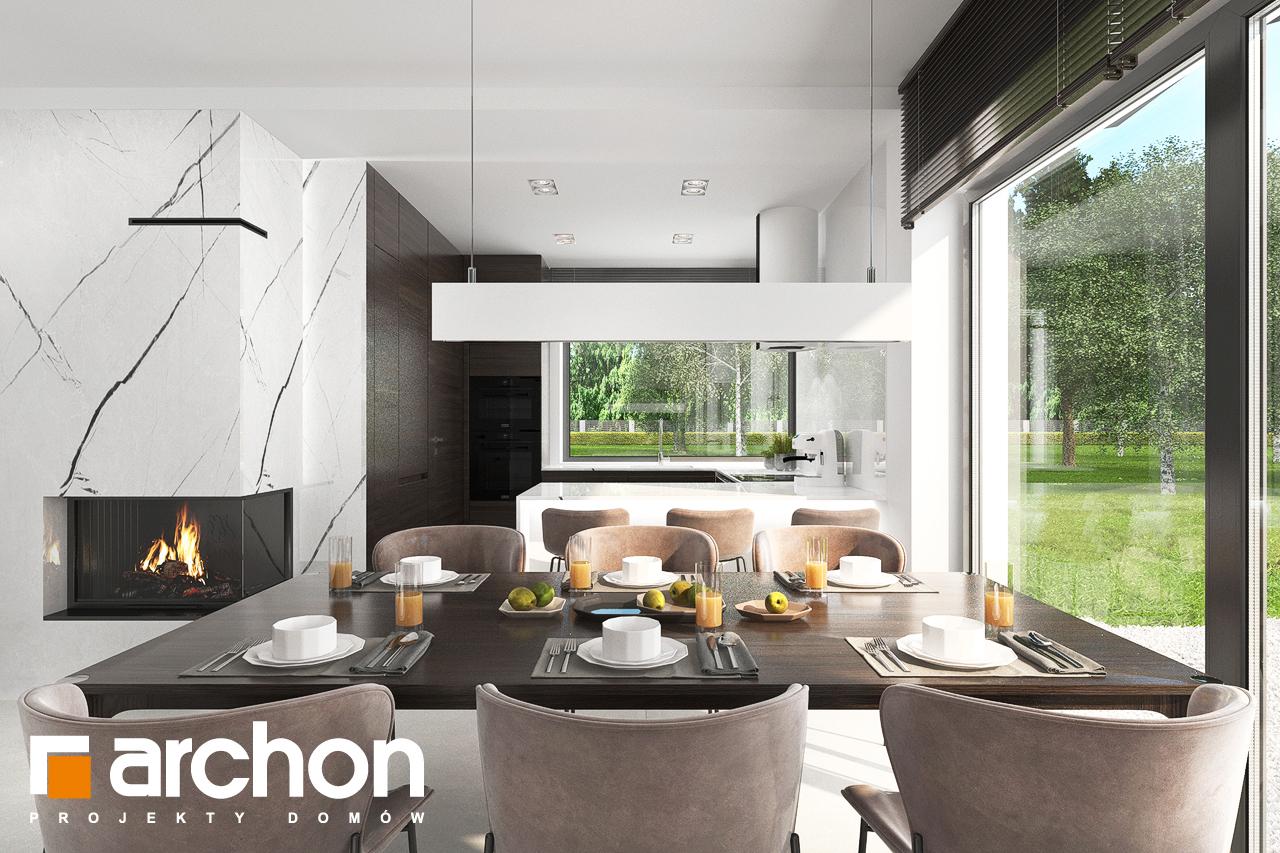 Проект будинку ARCHON+ Будинок в хакетіях 5 денна зона (візуалізація 1 від 2)