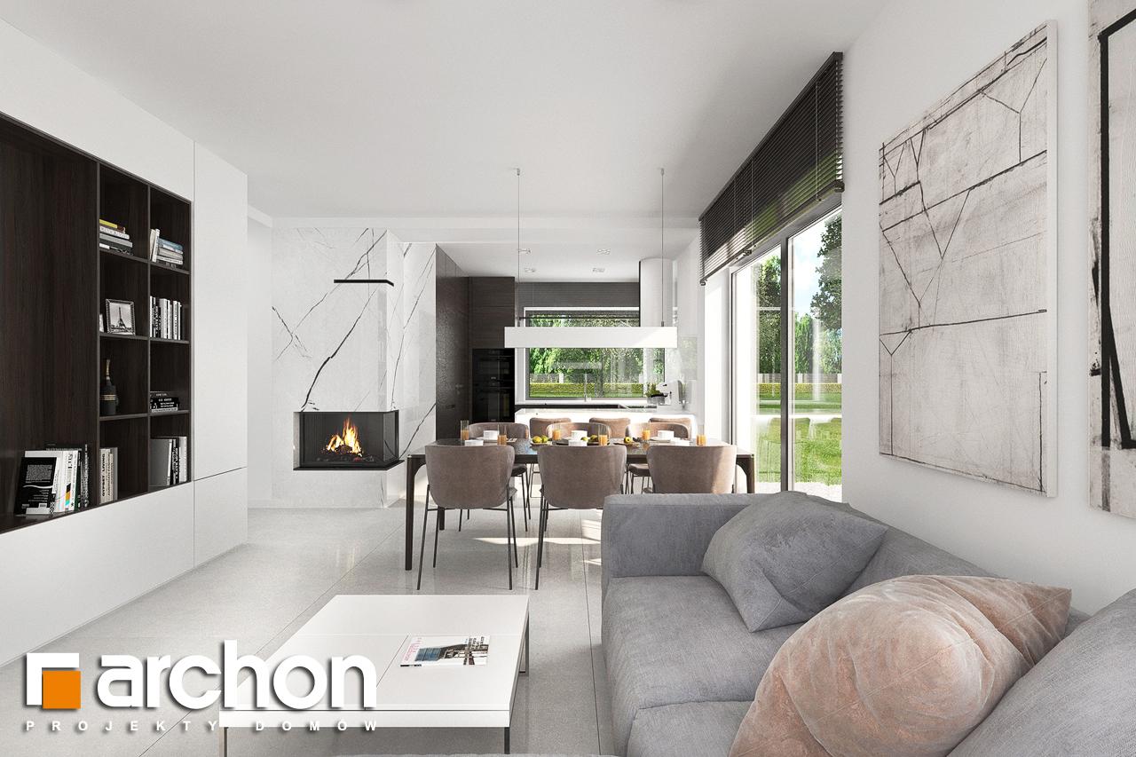 Проект будинку ARCHON+ Будинок в хакетіях 5 денна зона (візуалізація 1 від 3)
