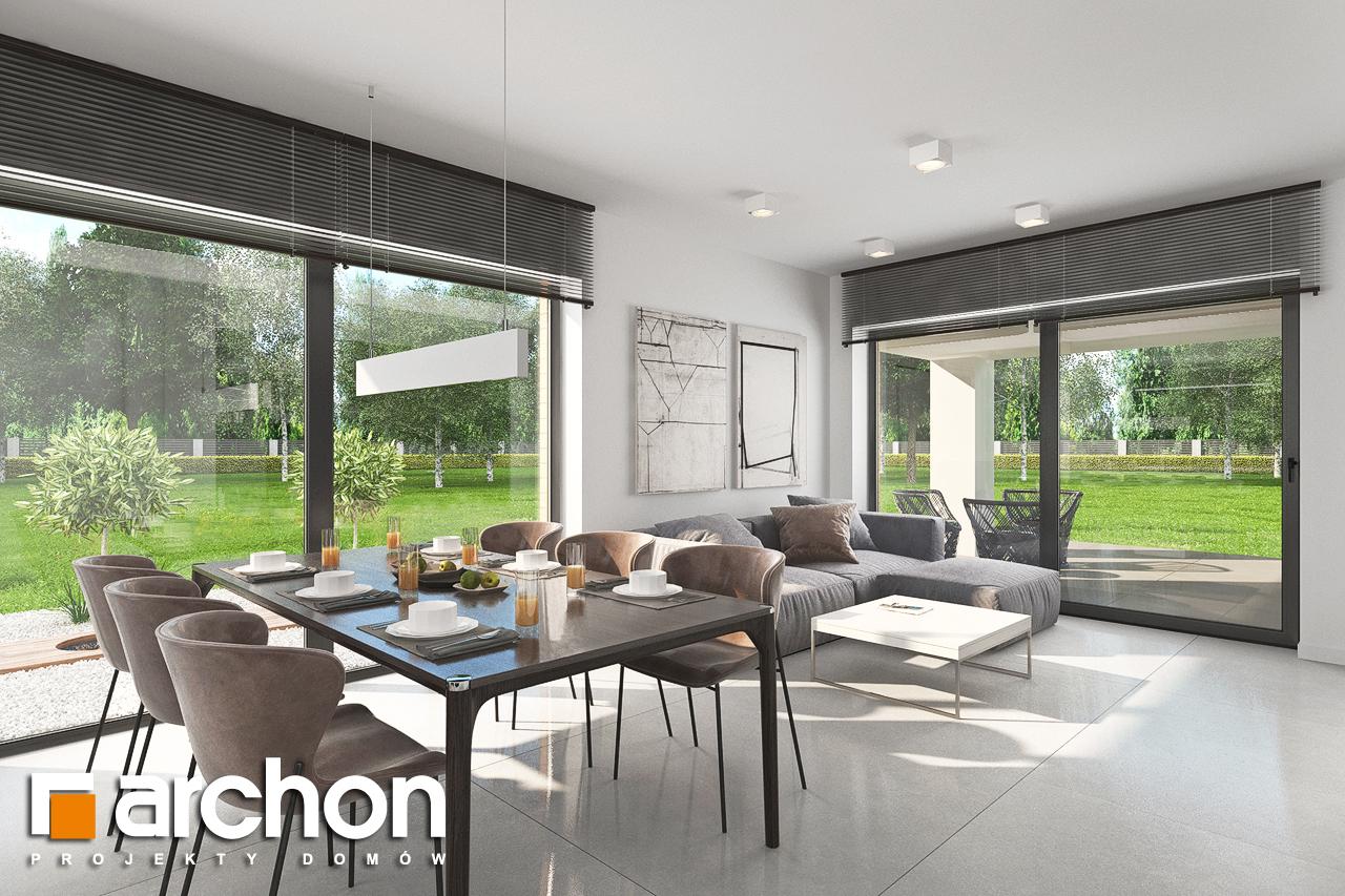 Проект будинку ARCHON+ Будинок в хакетіях 5 денна зона (візуалізація 1 від 5)