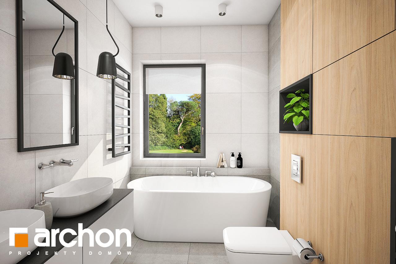 Проект будинку ARCHON+ Будинок в трояндах (Г2) візуалізація ванни (візуалізація 3 від 1)
