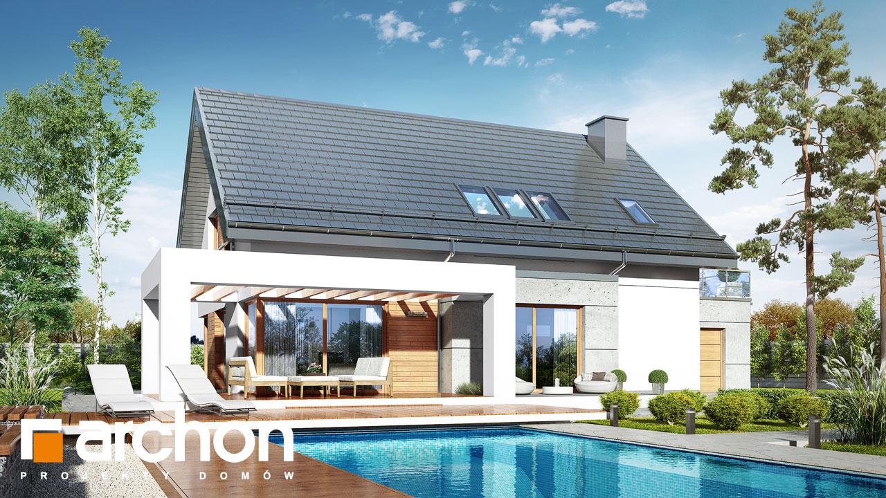 Проект будинку ARCHON+ Будинок в арабісах стилізація 4