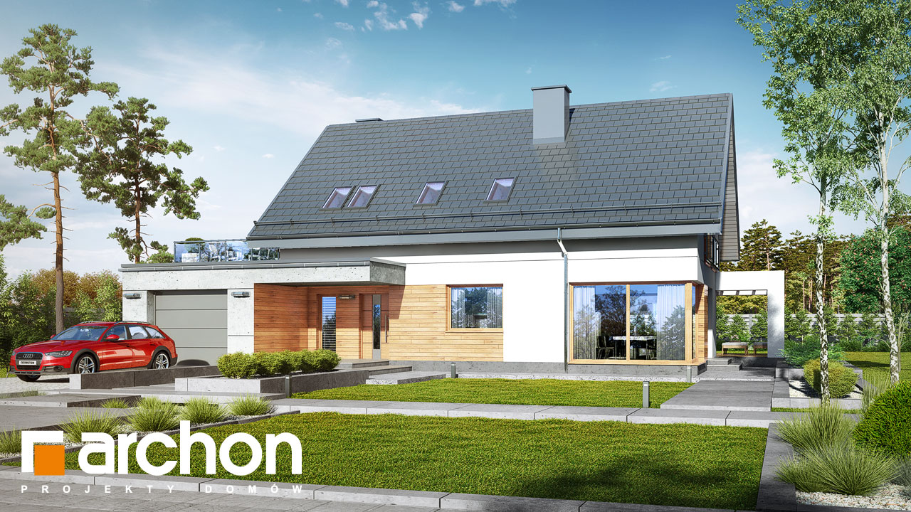 Проект будинку ARCHON+ Будинок в арабісах Вид 2