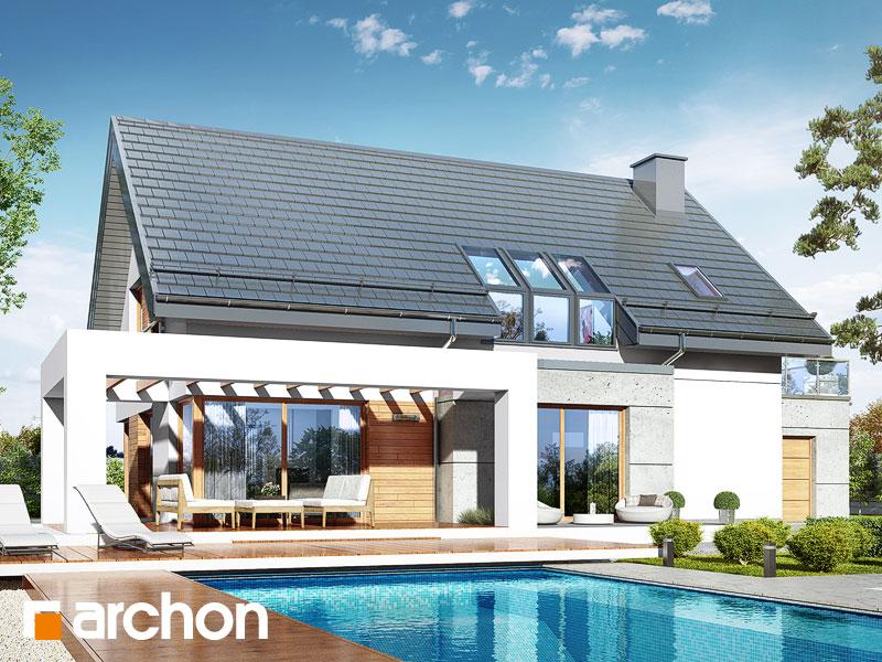 Проект будинку ARCHON+ Будинок в арабісах Вид 1