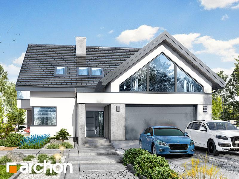 Проект будинку ARCHON+ Будинок у телімах (Г2) Вид 1