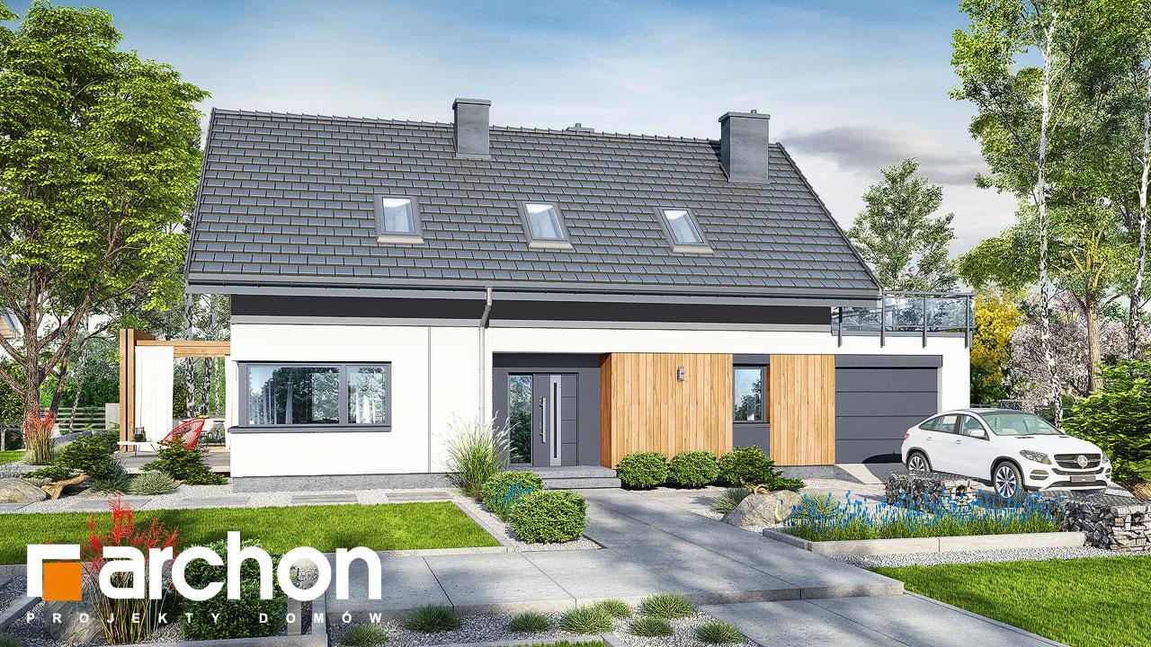 Проект будинку ARCHON+ Будинок в силені (Г) додаткова візуалізація