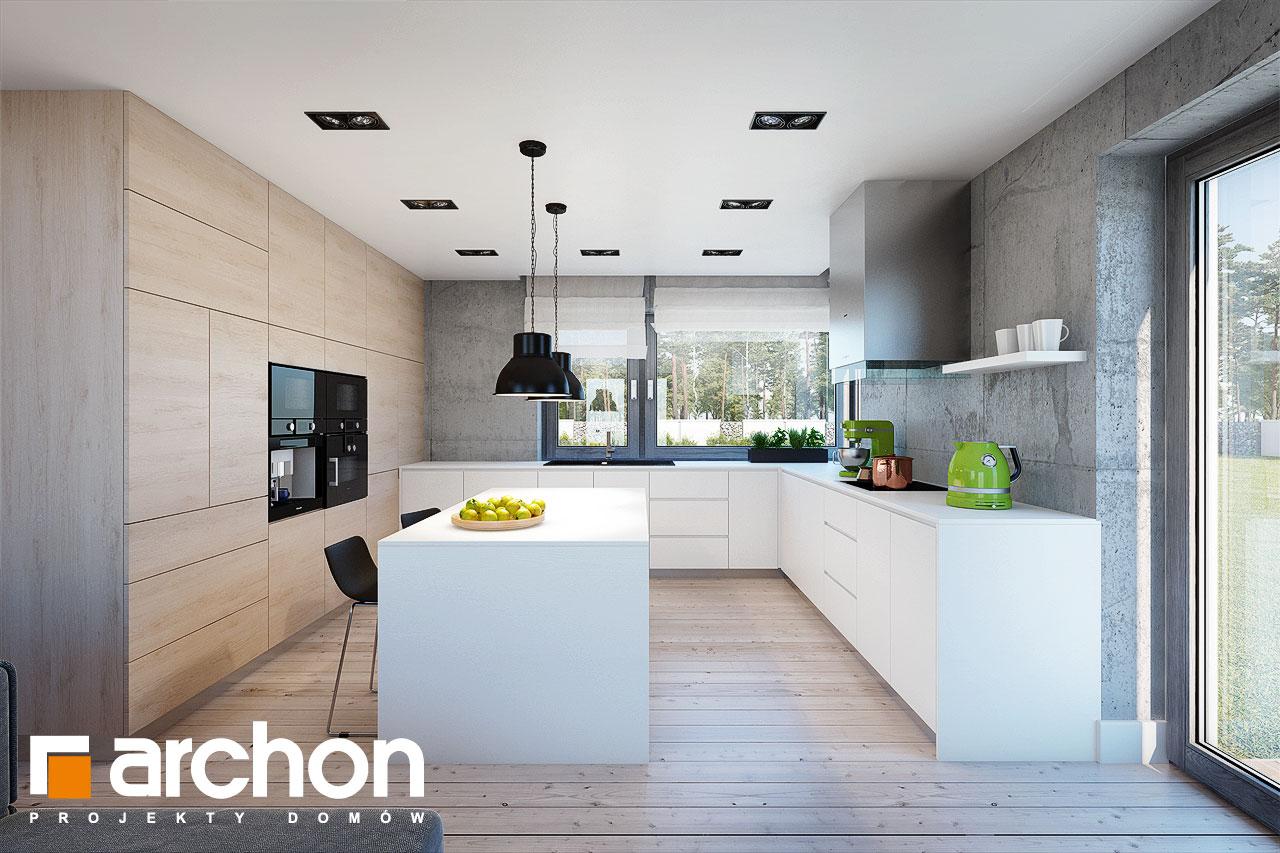 Проект будинку ARCHON+ Будинок в силені (Г) візуалізація кухні 1 від 1