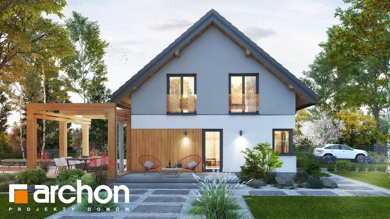 Проект будинку ARCHON+ Будинок в силені (Г) Вид 2