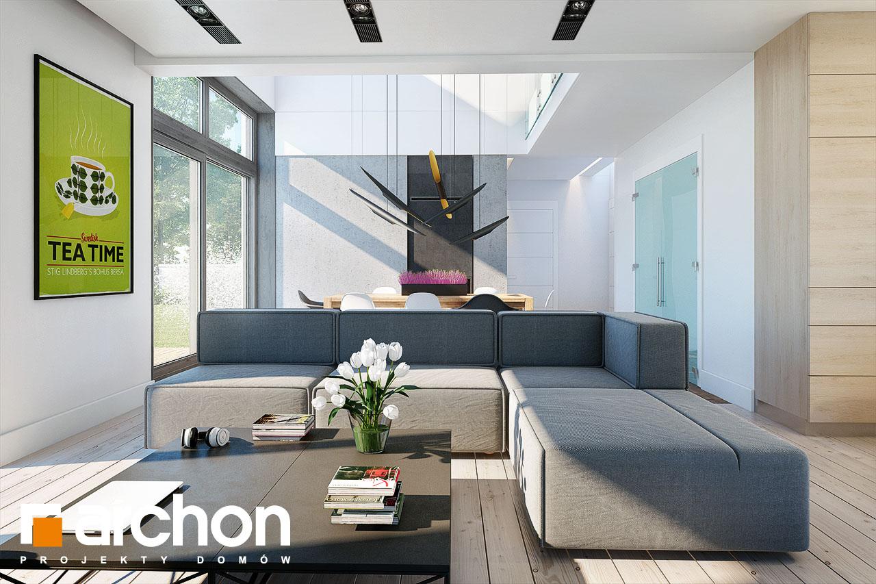 Проект будинку ARCHON+ Будинок в силені (Г) денна зона (візуалізація 1 від 1)