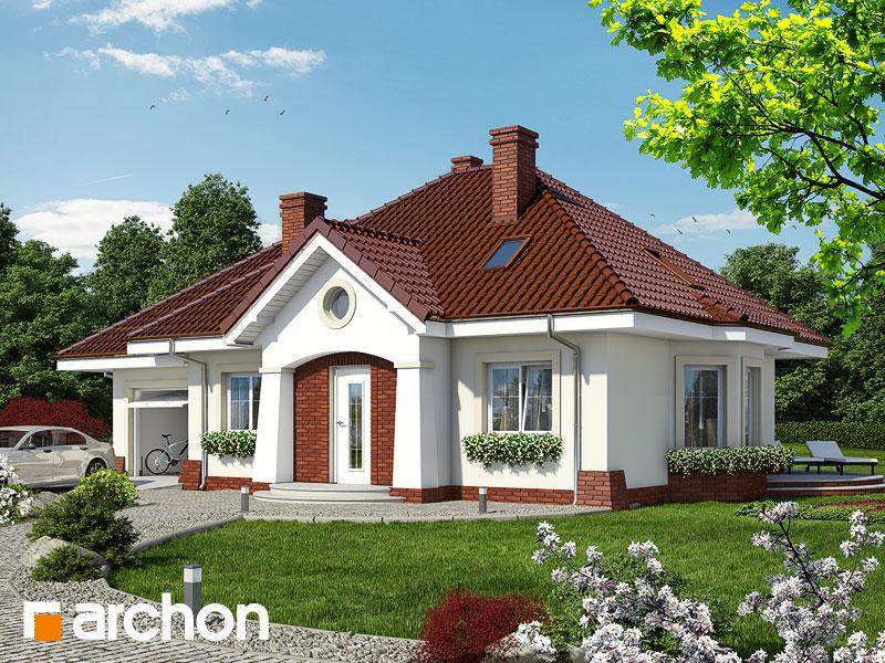 Проект дома ARCHON+ Дом в лотосах (Г) вер.2 Вид 1
