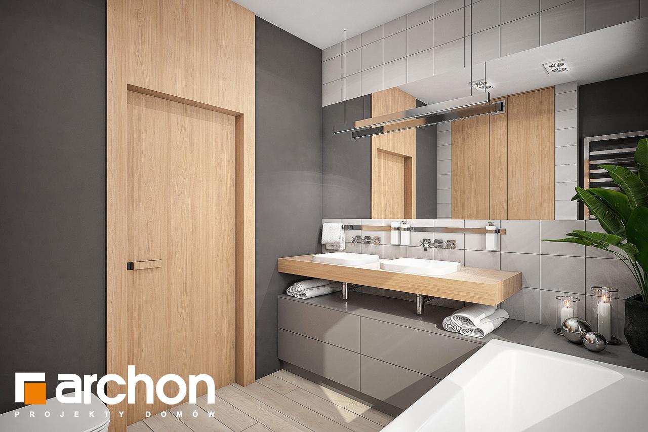 Проект будинку ARCHON+ Будинок в альвах 3 візуалізація ванни (візуалізація 3 від 3)