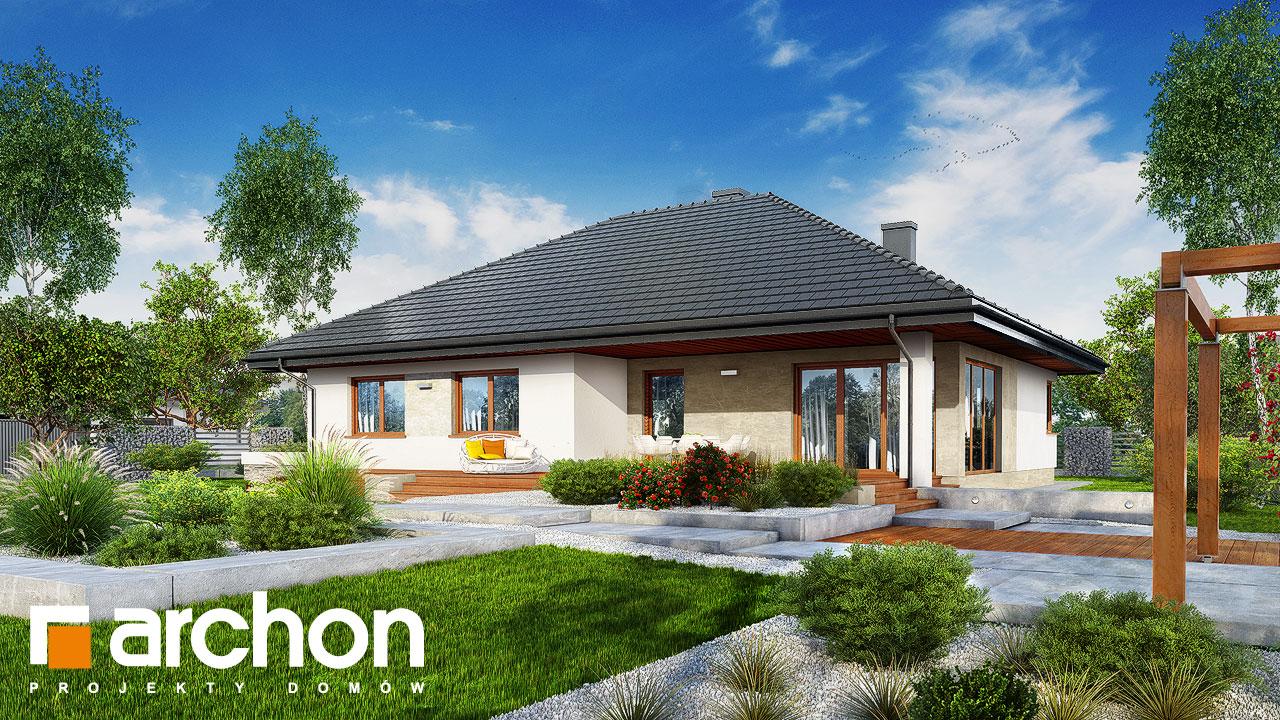 Проект будинку ARCHON+ Будинок в альвах 3 Вид 2