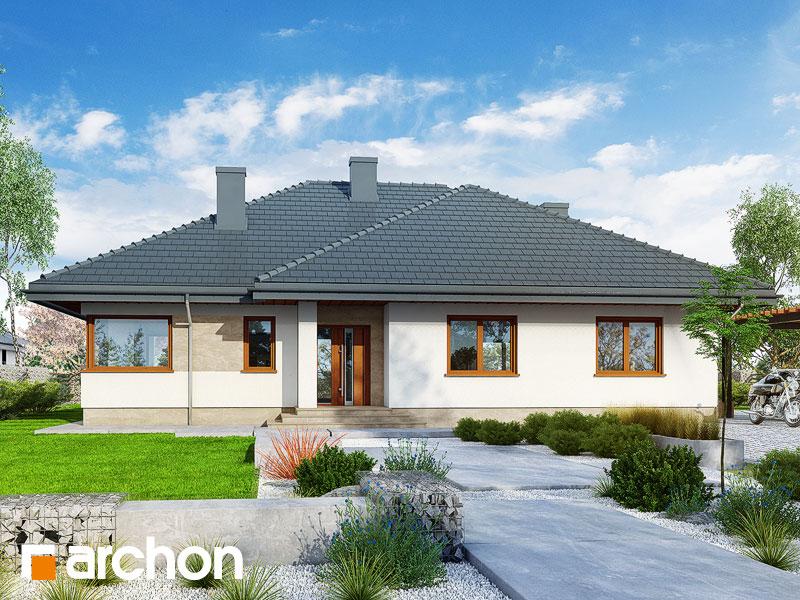 Проект будинку ARCHON+ Будинок в альвах 3 Вид 1