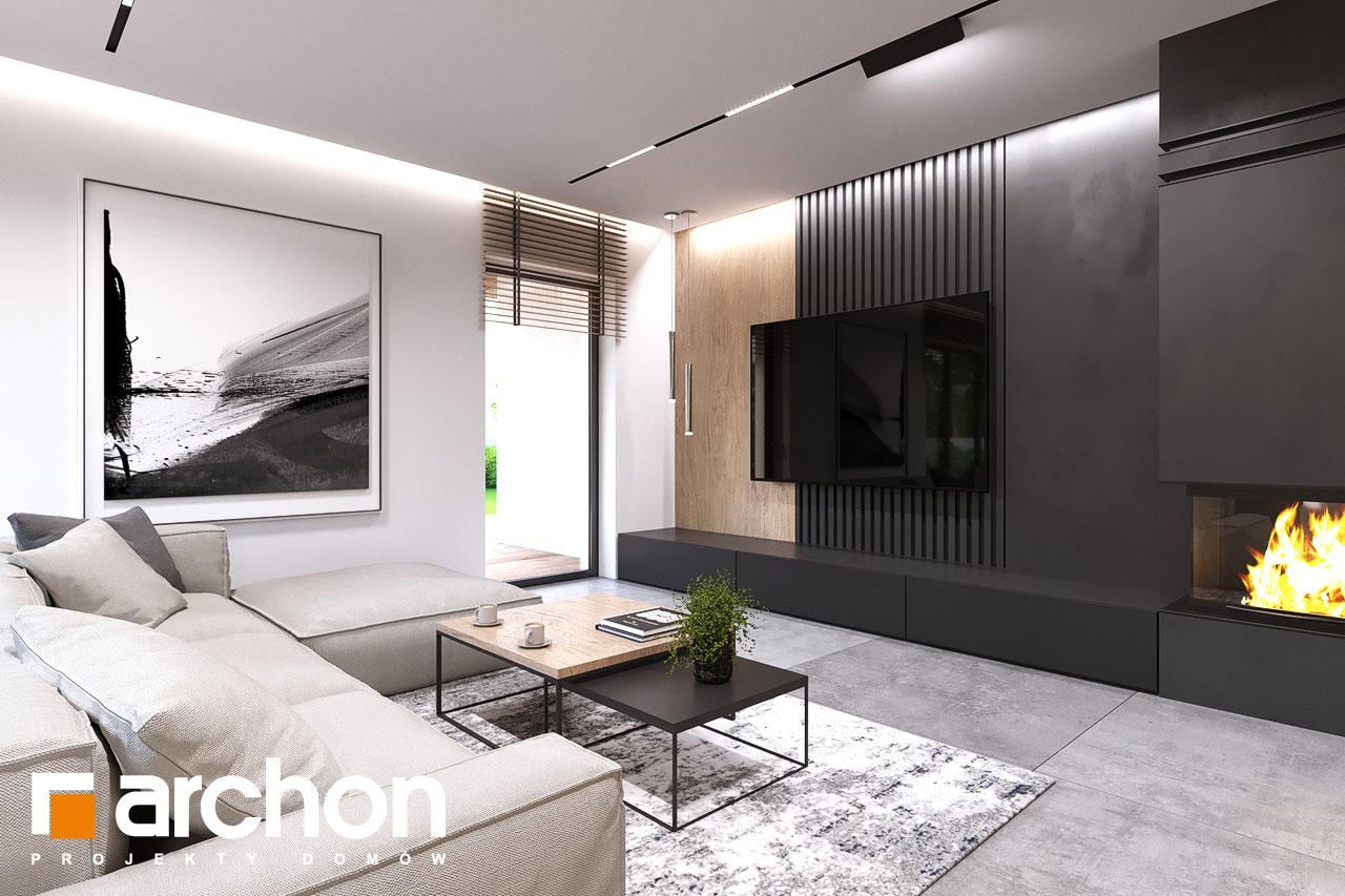 Проект будинку ARCHON+ Будинок в альвах 3 денна зона (візуалізація 1 від 2)