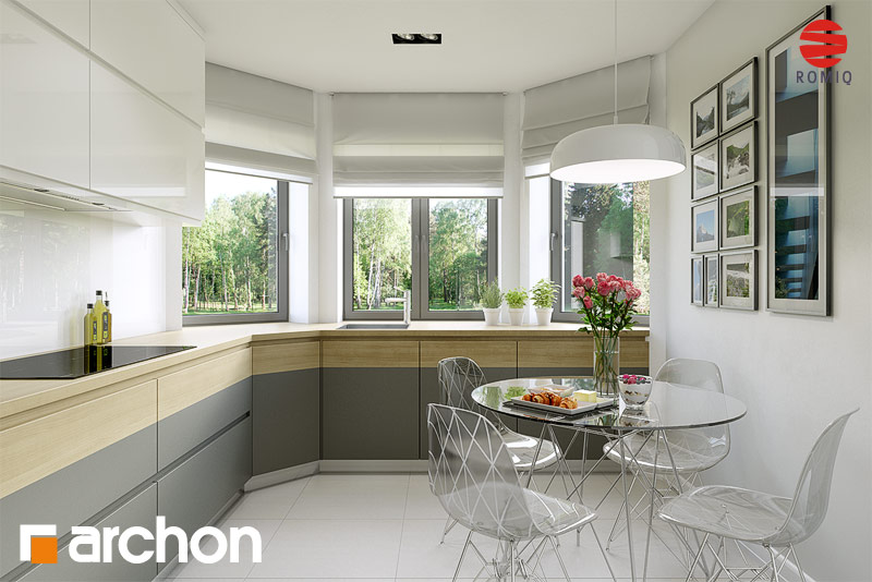 Проект будинку ARCHON+ Будинок в майорані 2 аранжування кухні 1 від 1