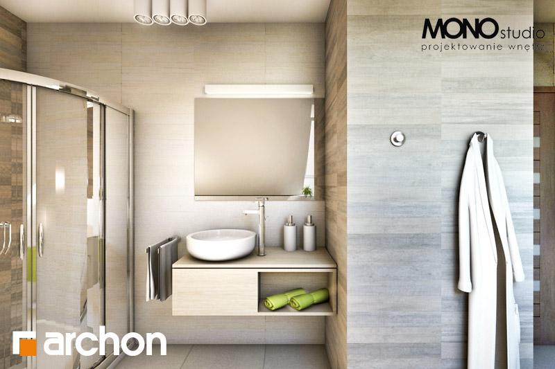 Проект дома ARCHON+ Дом в майоране 2 визуализация ванной (визуализация 1 вид 4)