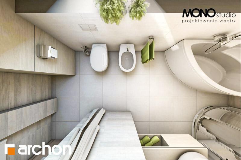 Проект дома ARCHON+ Дом в майоране 2 визуализация ванной (визуализация 1 вид 5)