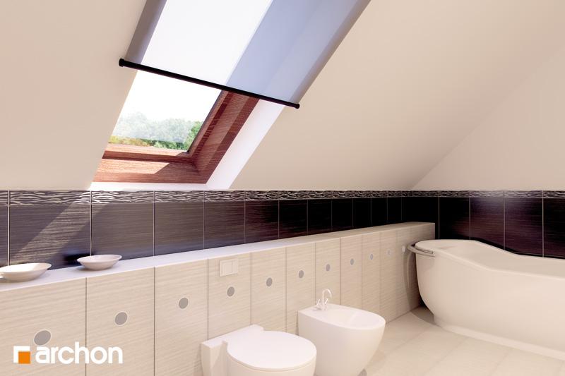 Проект дома ARCHON+ Дом в майоране 2 вер.2 визуализация ванной (визуализация 3 вид 1)