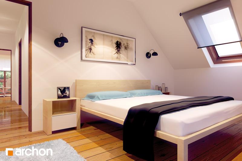 Проект дома ARCHON+ Дом в майоране 2 вер.2 ночная зона (визуализация 1 вид 2)