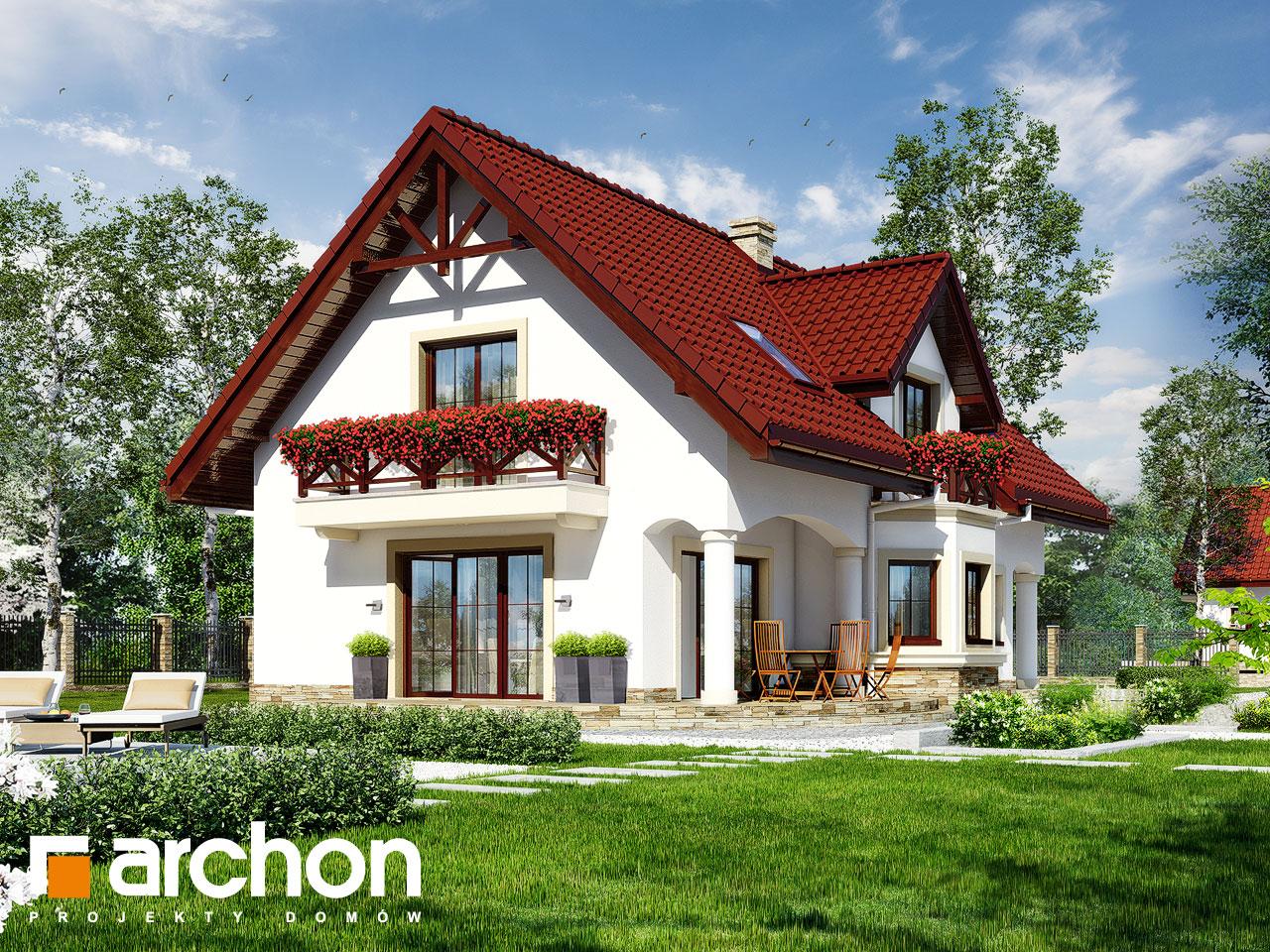 Проект дома ARCHON+ Дом в майоране 2 вер.2 Вид 2